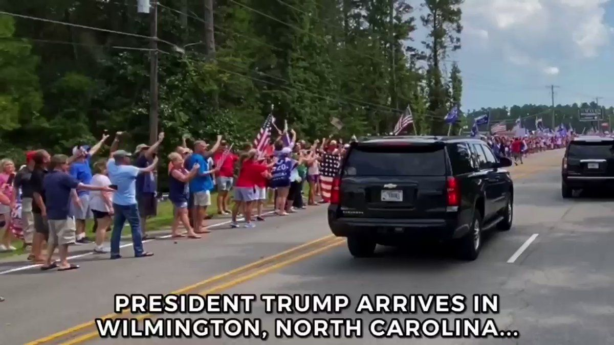 Dan Scavino On Twitter 9 2 2020 Wilmington North Carolina In 2020 Wilmington North Carolina President Trump