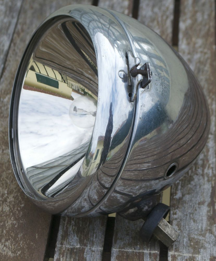 Vintage Lucas King of The Road L133 Headlight Headlamp Wolseley Car ...