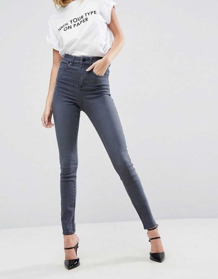 89f71f563b9 These are so flattering. Asos Sculpt Me High Waisted Premium Jeans ...