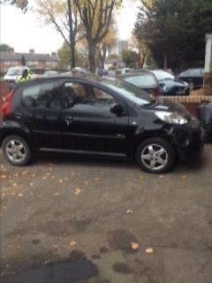 eBay: peugeot 107 5 door black damaged repairable salvage 2009 ...