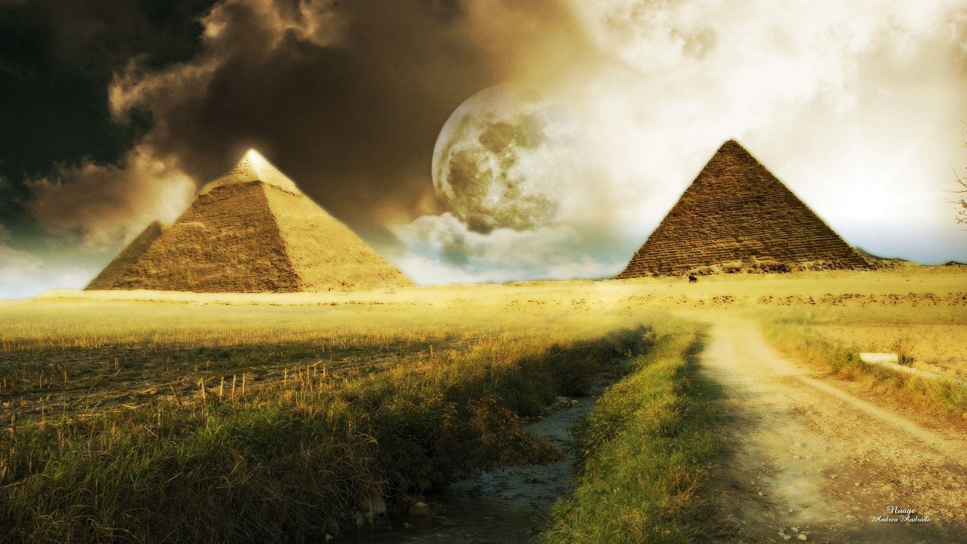 PYRAMIDS - egypt Wallpaper