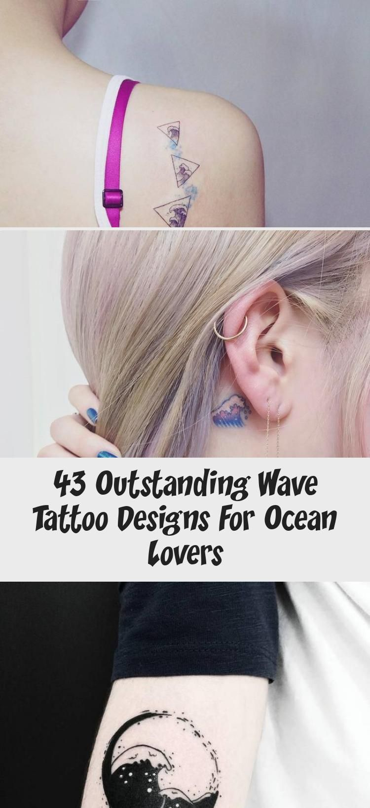 43 Outstanding Wave Tattoo Designs For Ocean Lovers - ART - Little Wave Tattoo on Ankle by victoriascarlet93 #estimular #TattoosandBodyArtWriting #TattoosandBod - #Art #cutetattoo #Designs #hiptattoo #inspirationaltattoo #lovers #Ocean #Outstanding #Tattoo #tattooleg #Wave #wavetattoo