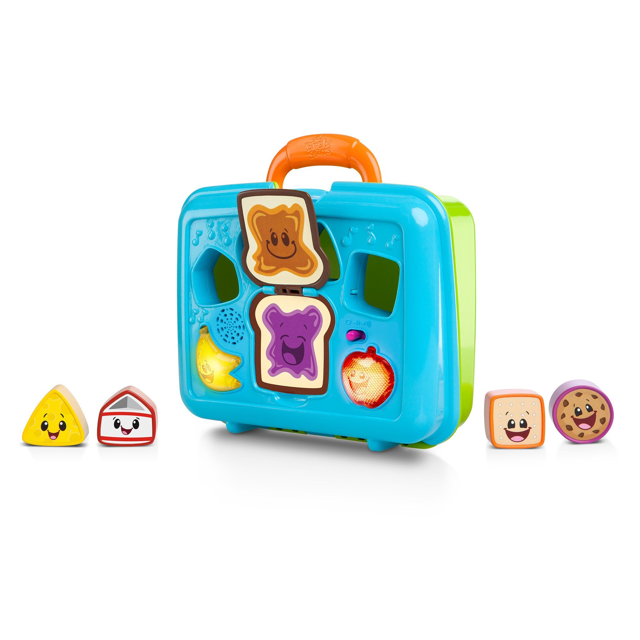 Toys images with names  Bright Starts Giggling Gourmet Sort un Giggle Lunchbox Food name is