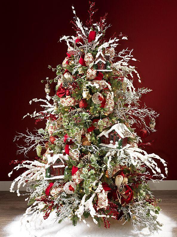 Decoracion De Arboles De Navidad 2015 2016 Decoracion De Pinos Navidenos Decoracion De Arboles Pinos De Navidad Naturales