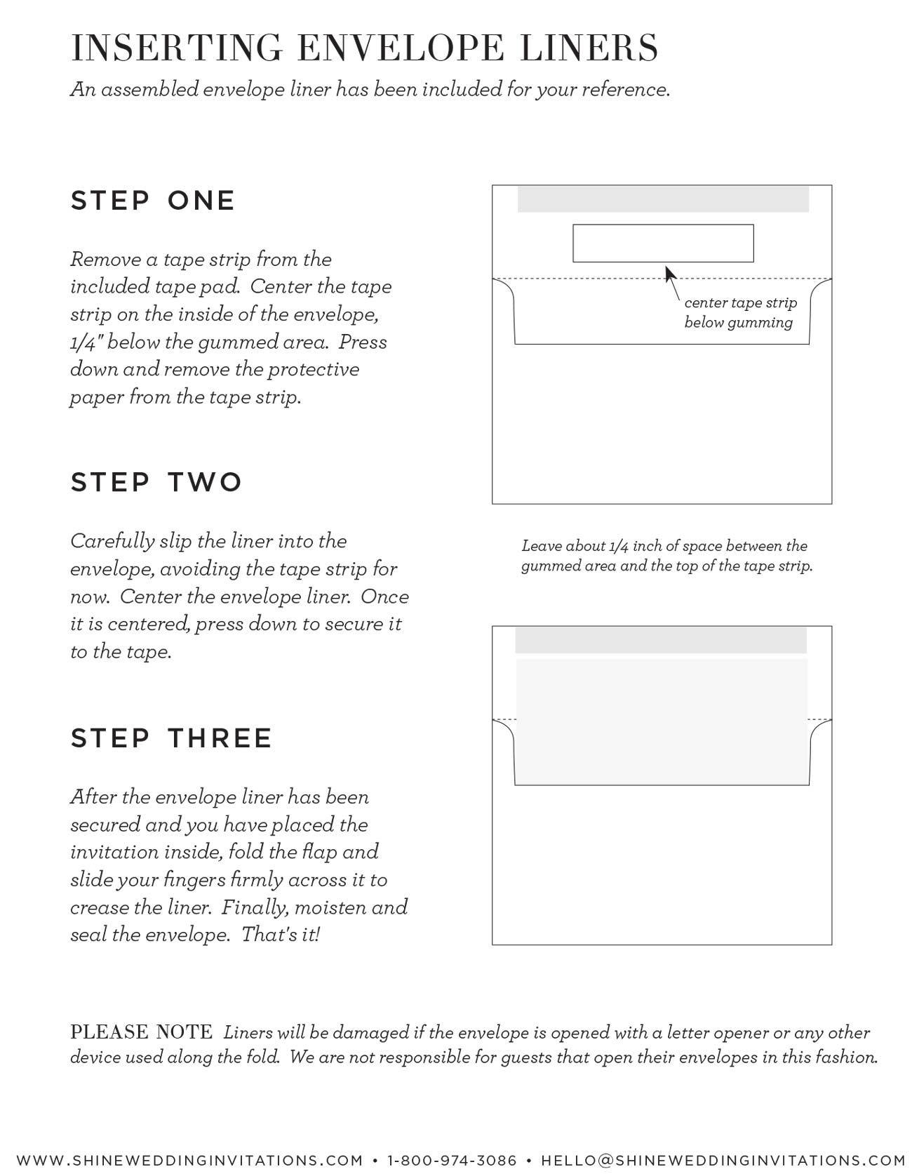 nice How to Create How to Stuff Wedding Invitations Printable ...