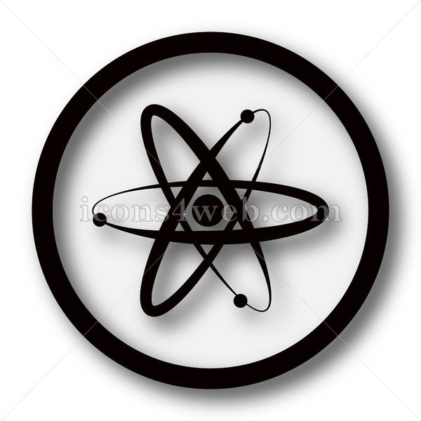 Atoms simple icon Atoms simple button Atoms simple icon Atoms simple button Royalty free image for your projects High quality internet button on white background