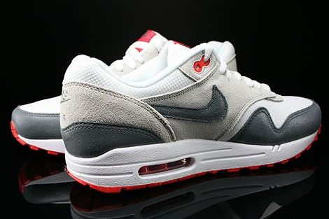nike air max rood wit grijs