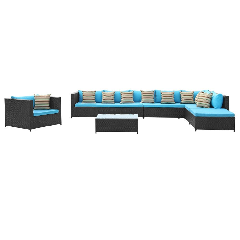 Finemod Imports Modern Garden 7-Piece Outdoor Rattan #design #homedesign #modern #modernfurniture #design4u #interiordesign #interiordesigner #furniture #furnituredesign #minimalism #minimal #minimalfurniture