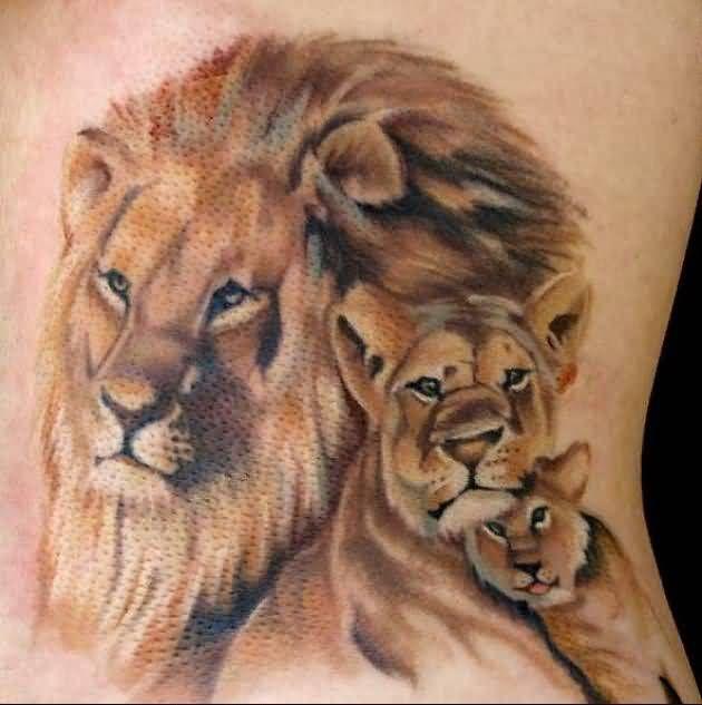 642a015b7a85e Tattoos Lions – lioness tattoos | creative art:-) | Lioness tattoo ...