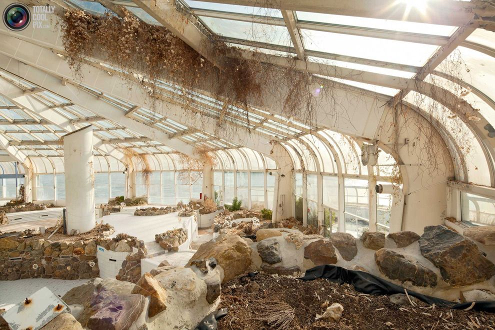 An abandoned tropical indoor swimming pool in the - Campsites in holland with swimming pool ...
