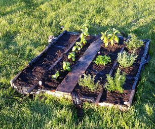 How to Make your own Pallet Garden