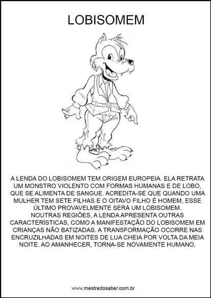 Projeto Folclore Para Educacao Infantil Com Imagens Projeto