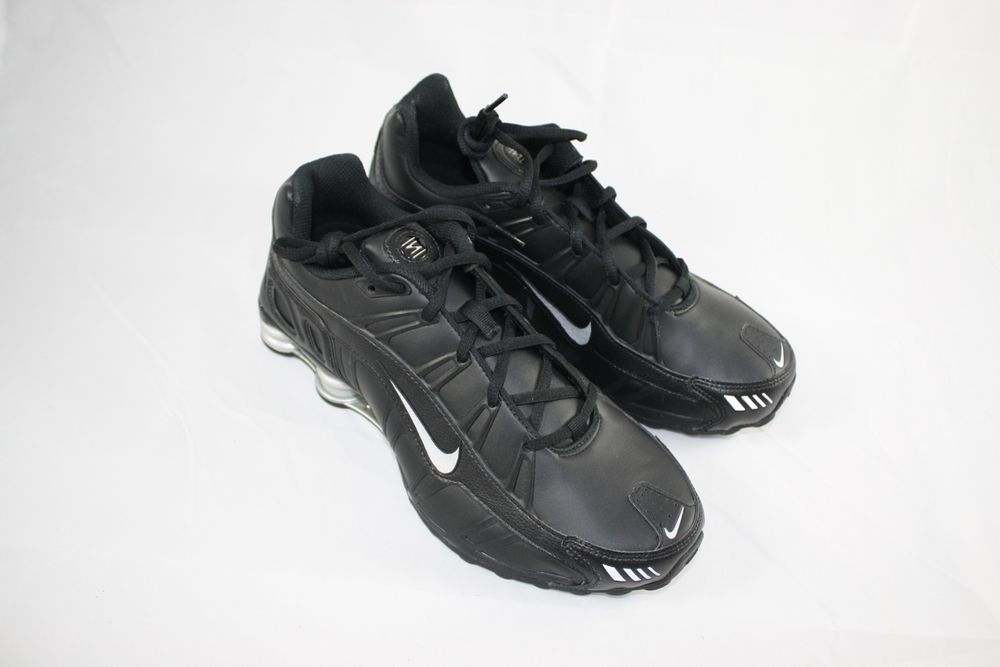f51b6407b6a5 BRAND NEW NIKE SHOX TURBO SL 3.2 SZ 9.5 BLACK METALLIC SILVER 455541 090   Nike  AthleticSneakers