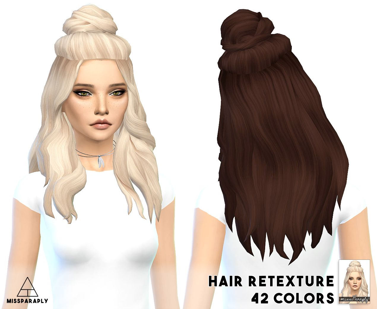 The sims 4 hairstyles cc - Miss Paraply Vellichor Hairstyle Retextured Sims 4 Hairs Http Sims4hairs