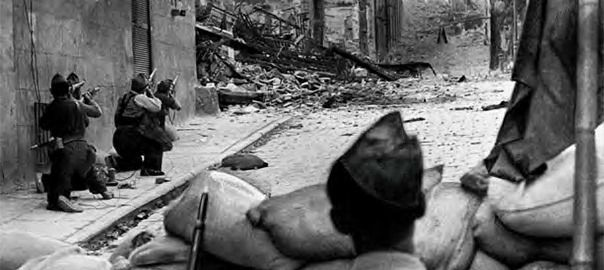 Una exposició a Perpinyà mostra una trentena de fotografies inèdites sobre la Guerra de 1936-39