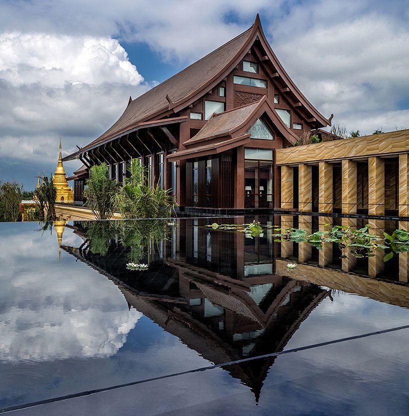 wanda vista xishuangbanna resort in china's lush mountainside by OAD