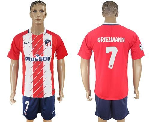 new products 5f43c 20e65 2014 15 atletico madrid 7 griezmann home soccer long sleeve ...
