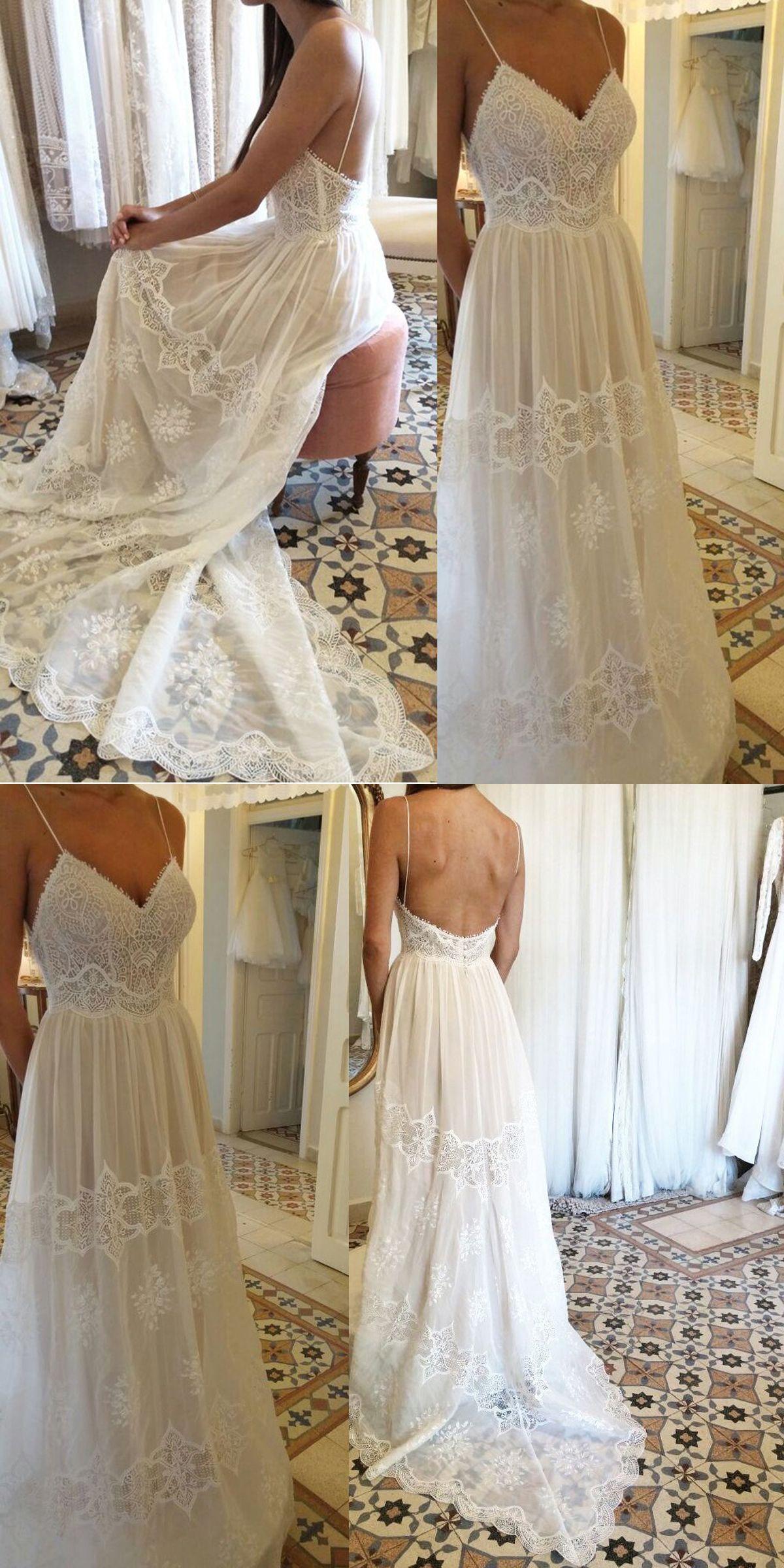 Lace off shoulder wedding dress august 2019 Blue Wedding Dress  wedpartyhairustuff  Pinterest  Spaghetti