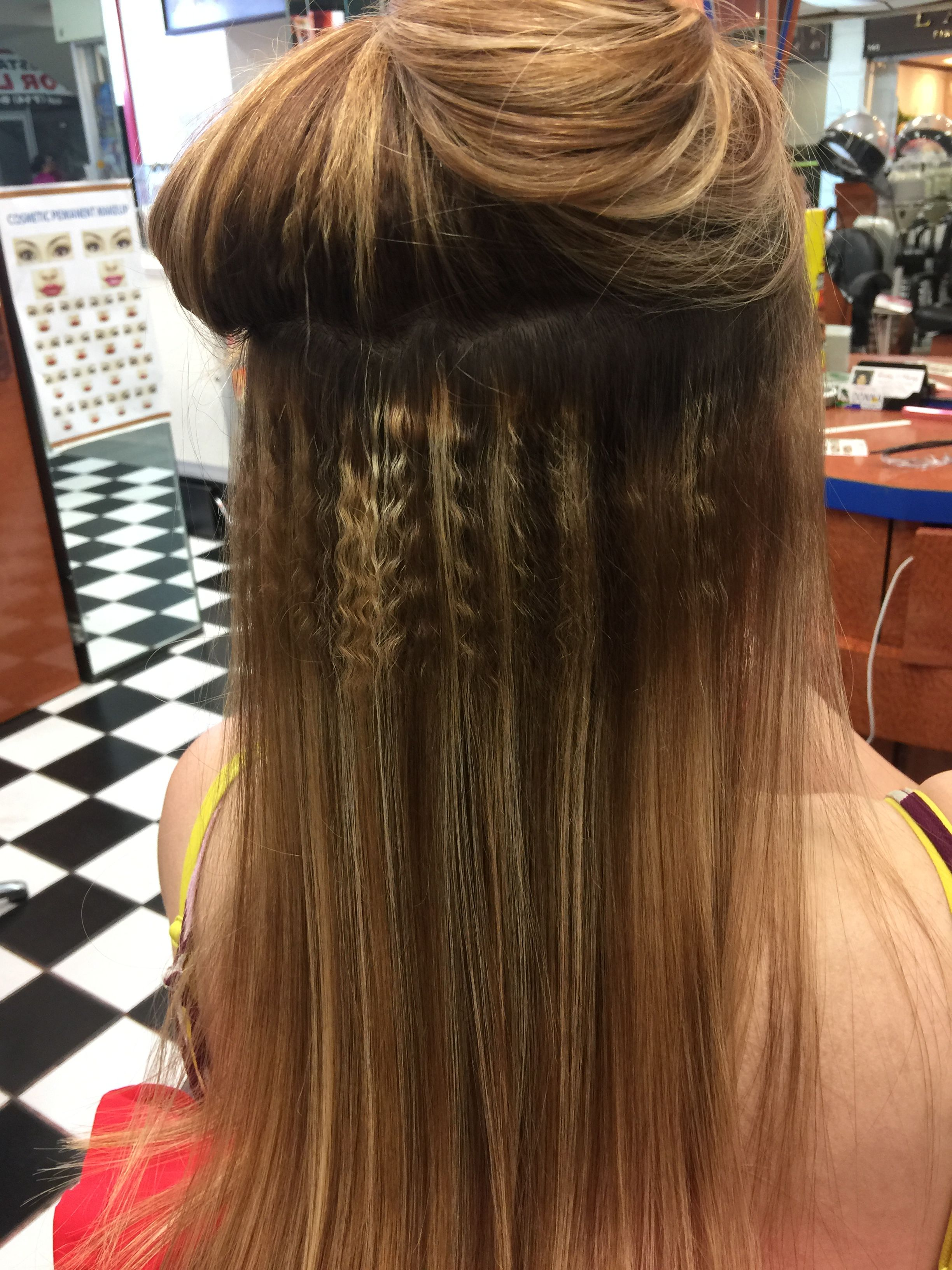 Roots Permanent Make Your Thin Hair Look Thicker And More Volume 7142249765 Hairstyles For Thin Hair Hair Looks Hair Styles