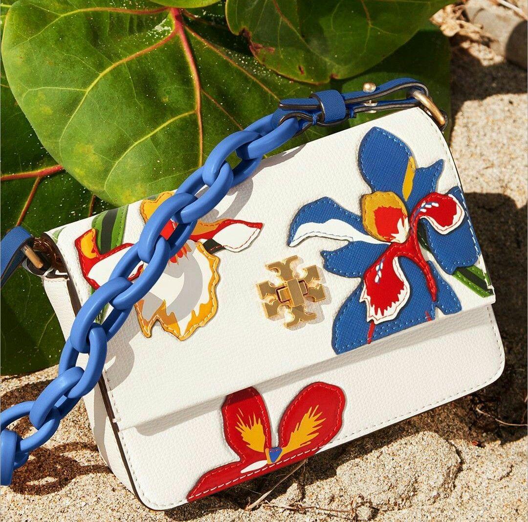 ac18d3d600d Kira Floral Double Strap Mini Bag by Tory Burch