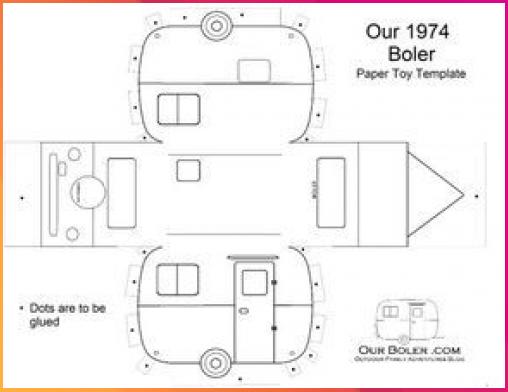 Wohnwagen Basteln Basteln Camping Ideen Wohnwagen Basteln Geschenk Wohnwagen In 2020 Karton Basteln Auto Basteln Vorlagen