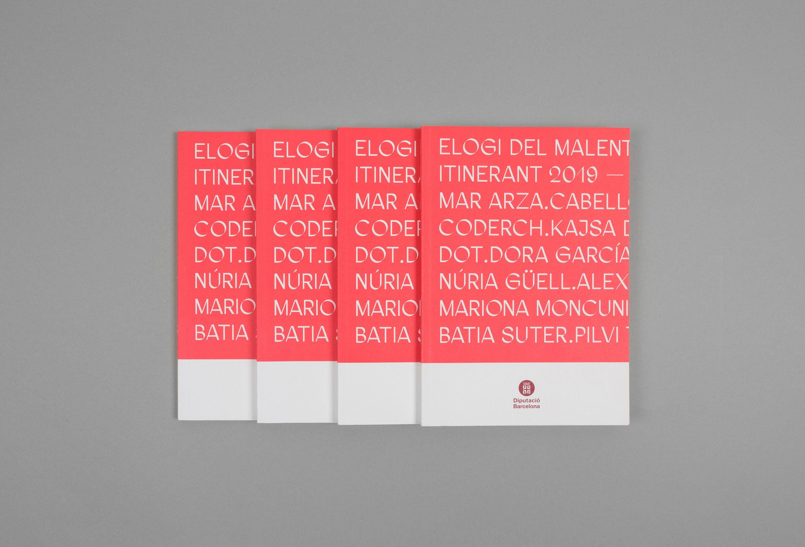 Elogi Del Malentes On Behance In 2020 Book Design Graphic Design Editorial Design