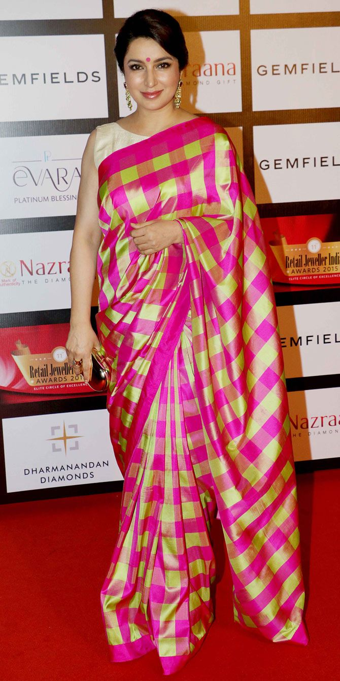 Tisca Chopra at the 11th Gemfiells & Nazrana Retail Jeweller India ...