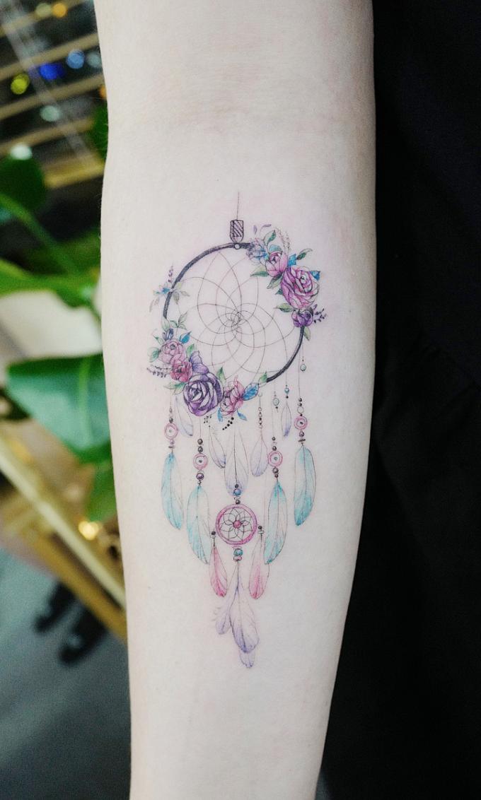 Native American tattoo-Dream catcher | Ink | Pinterest |Native American Dreamcatcher Tattoo