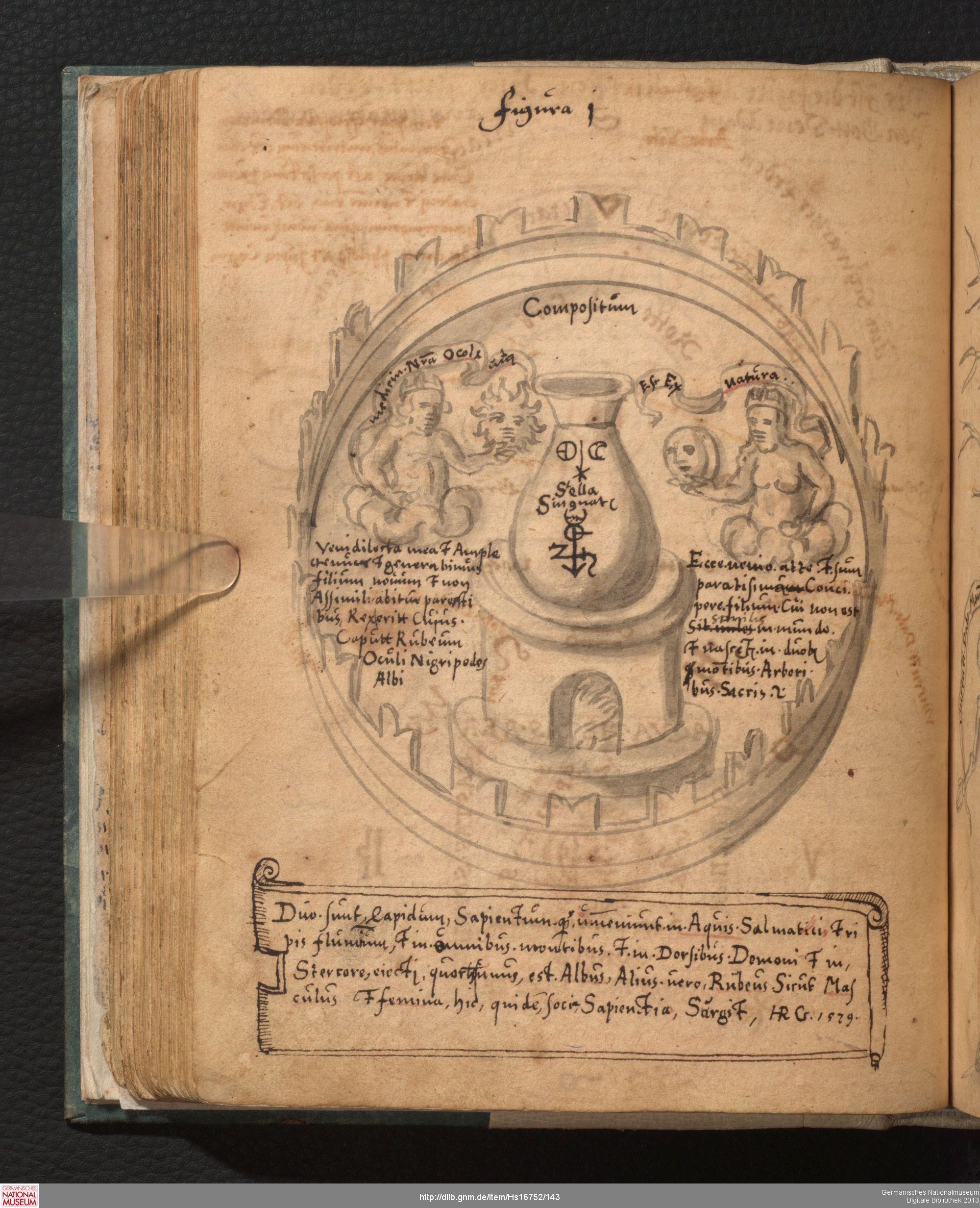 Alchimistische Sammelhandschrift Strassburg 1578 1588 Alchemie Symbole Strassburg Digitale Bibliothek