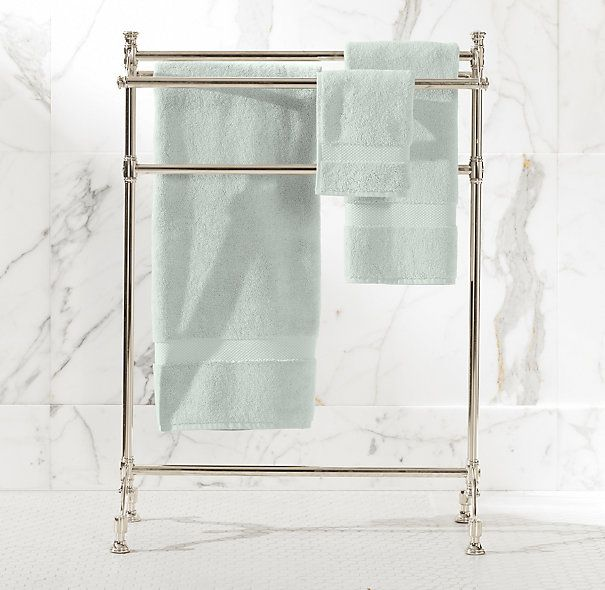 Newbury Towel Stand Restoration Hardware Bathroom Towel