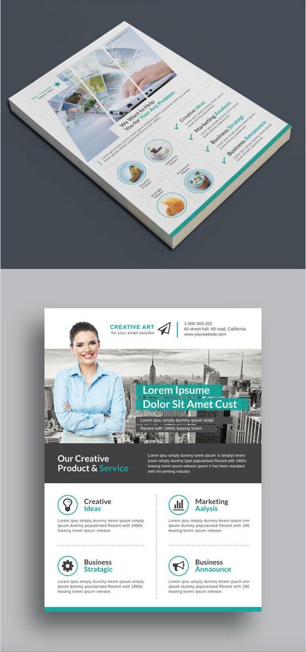 multi purpose business flyer pack diseño gráfico fotografía