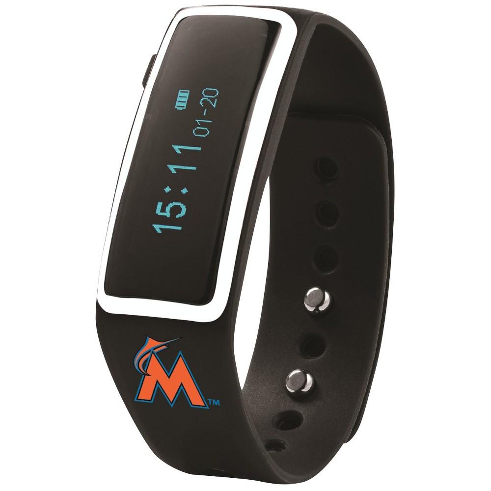 MLB Miami Marlins Nuband Activity and Sleep Tracking Band - Black