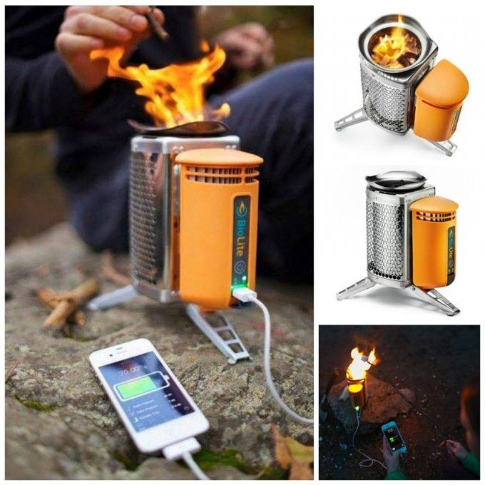 Wood Burning Camp Stove That Also Charges Your Cell Phonegreat Camping Idea