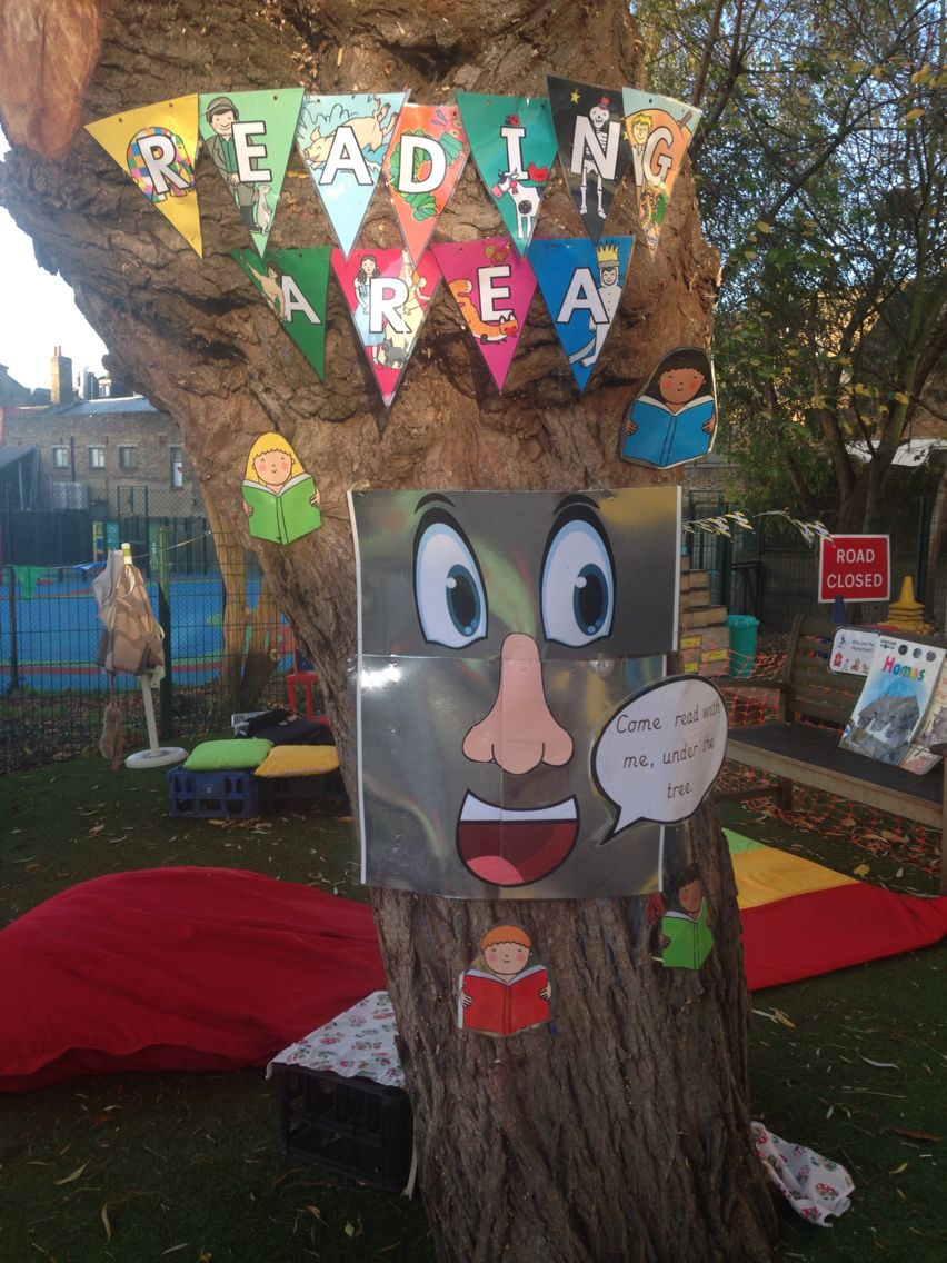Outdoor Reading Area Eyfs Reading Tree Eyfs Outdoor Area