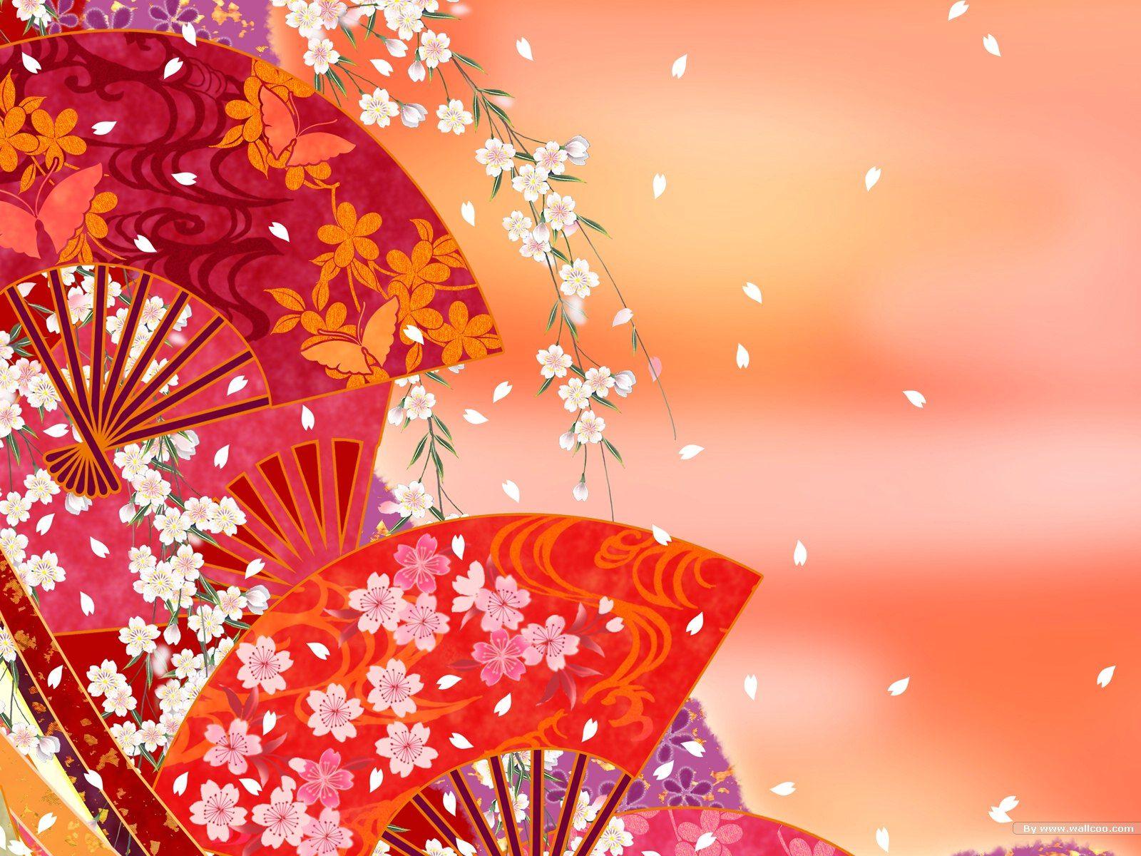 Asiatic Pattern 壁紙 和風 壁紙