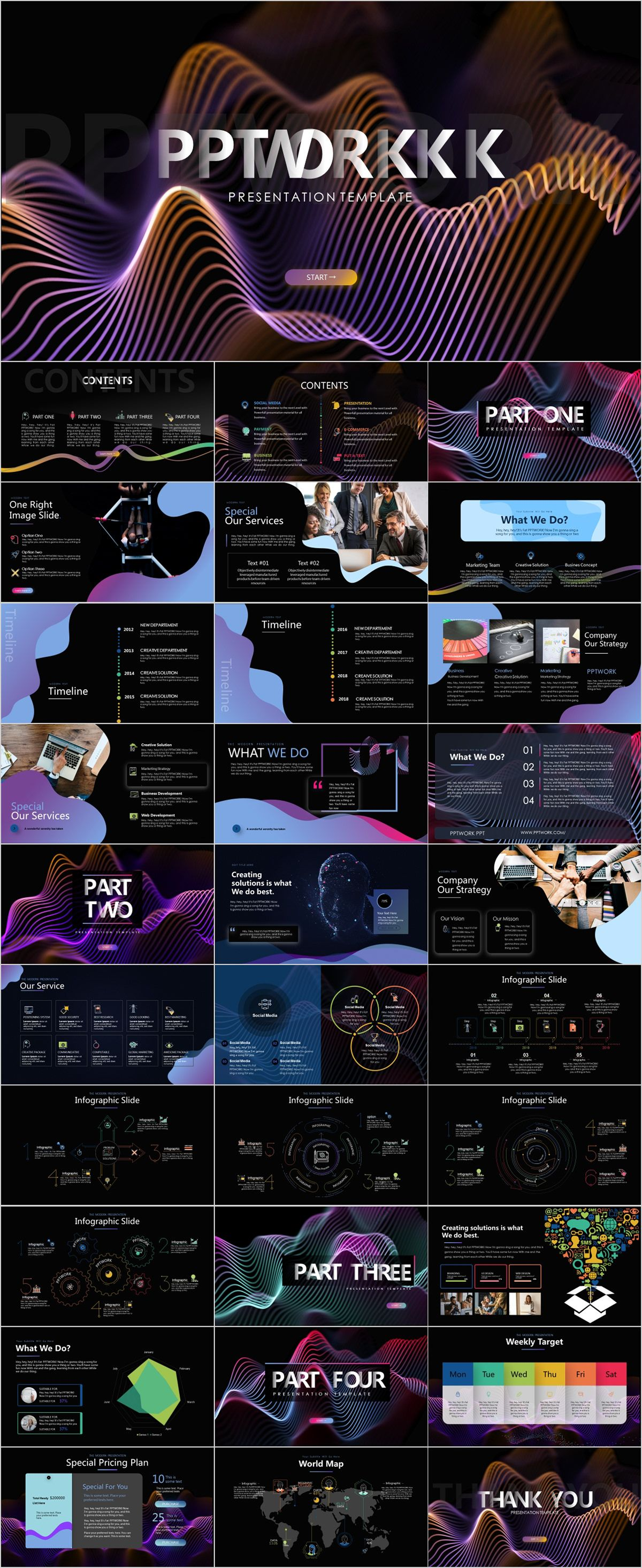company timeline powerpoint template powerpoint templates