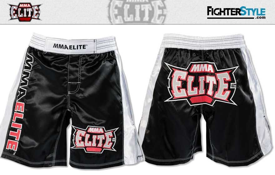 Mma Elite Training Shorts Black At Http Www Fighterstyle Com Mma Elite Shorts Training Elite Shorts Training Shorts Mma Gear