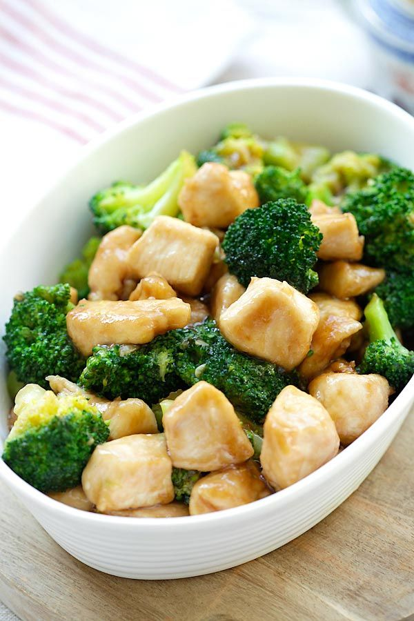 Chicken And Broccoli - Learn How To Make Healthy Homemade -5207
