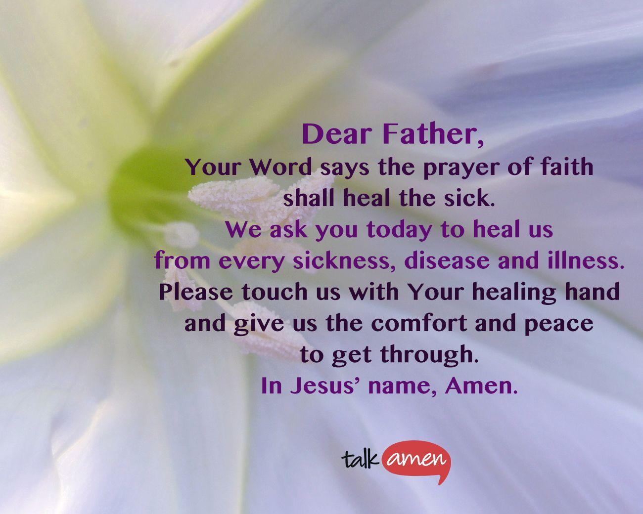 Healing Disease Prayer 71