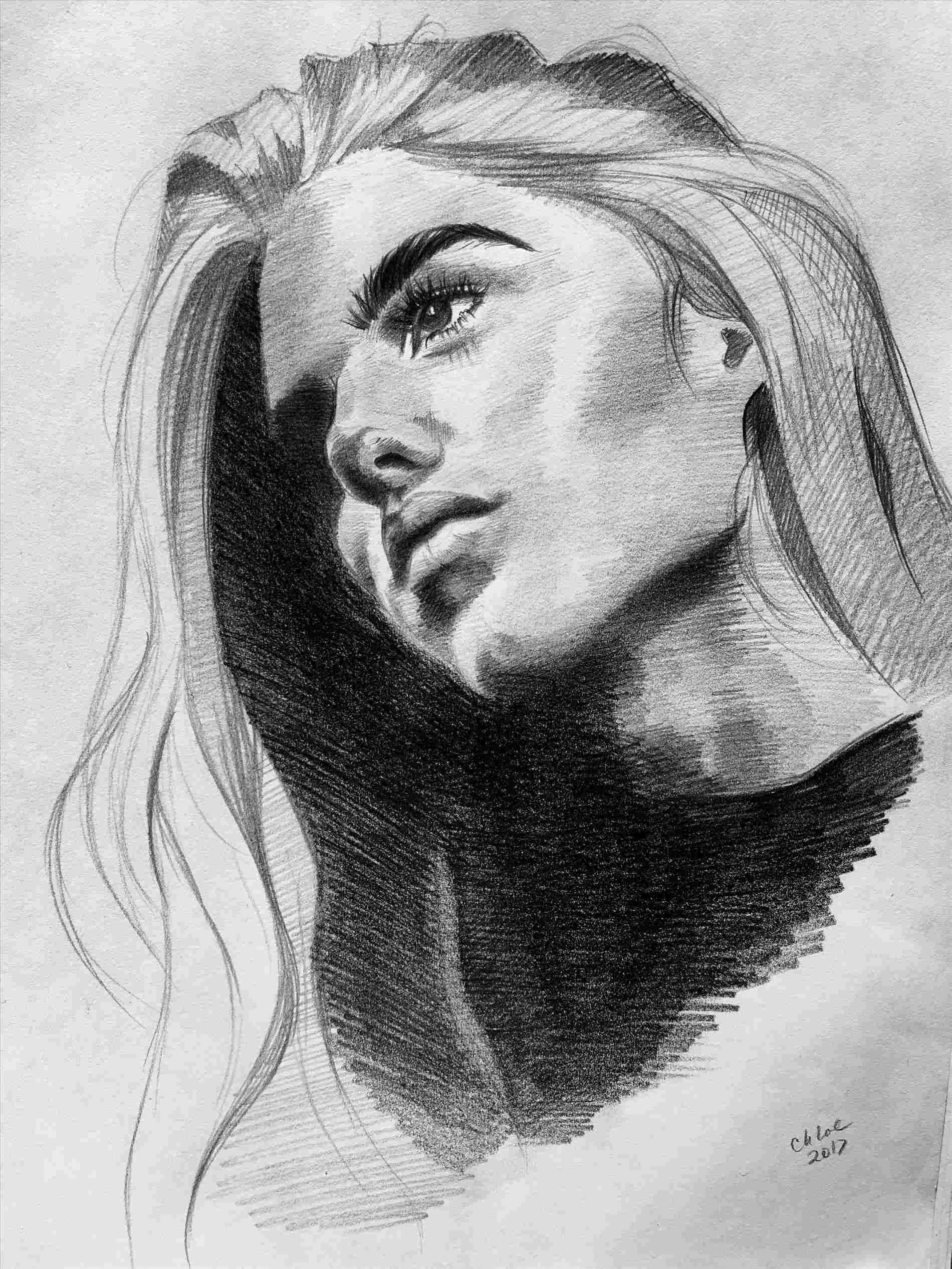 Easy charcoal drawing ideas life s