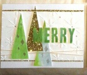 Sheryl's Crafting Corner: Christmas cards kit and mailed