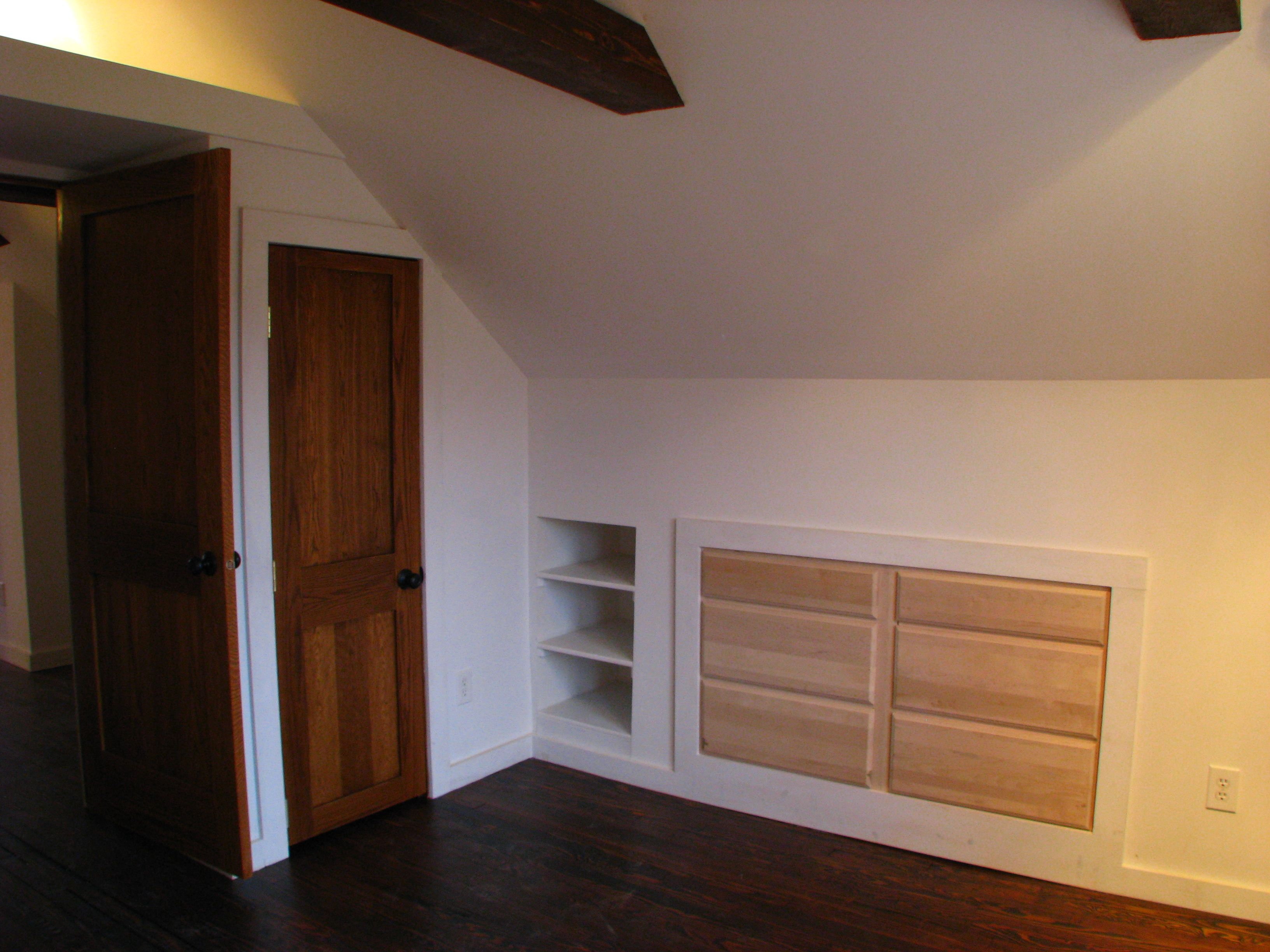 A Rebirth For A 1920s Cottage Build A Closet Built In Dresser Wall Storage