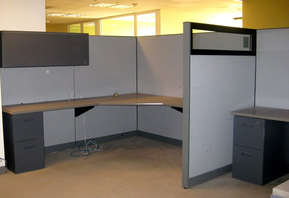 Cubicle set up in Orlando Cubicle, Home, Home decor