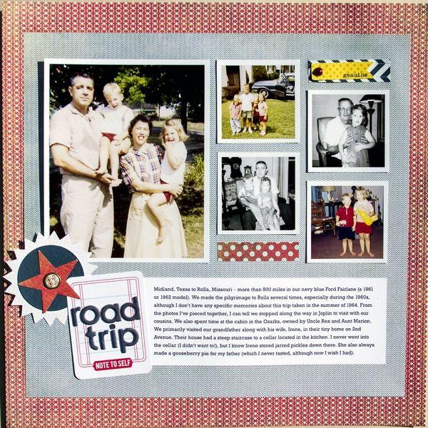 Road Trip By Jeanmanis 2peasinabucket Scrapbooking Classic
