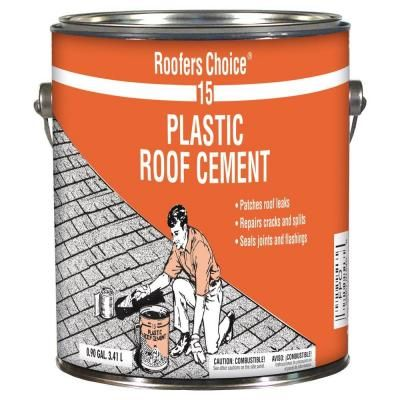 Roofers Choice 0 90 Gal Plastic Roof Cement Rc015142
