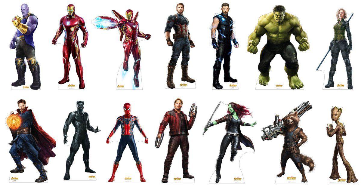 Мстители все герои имена