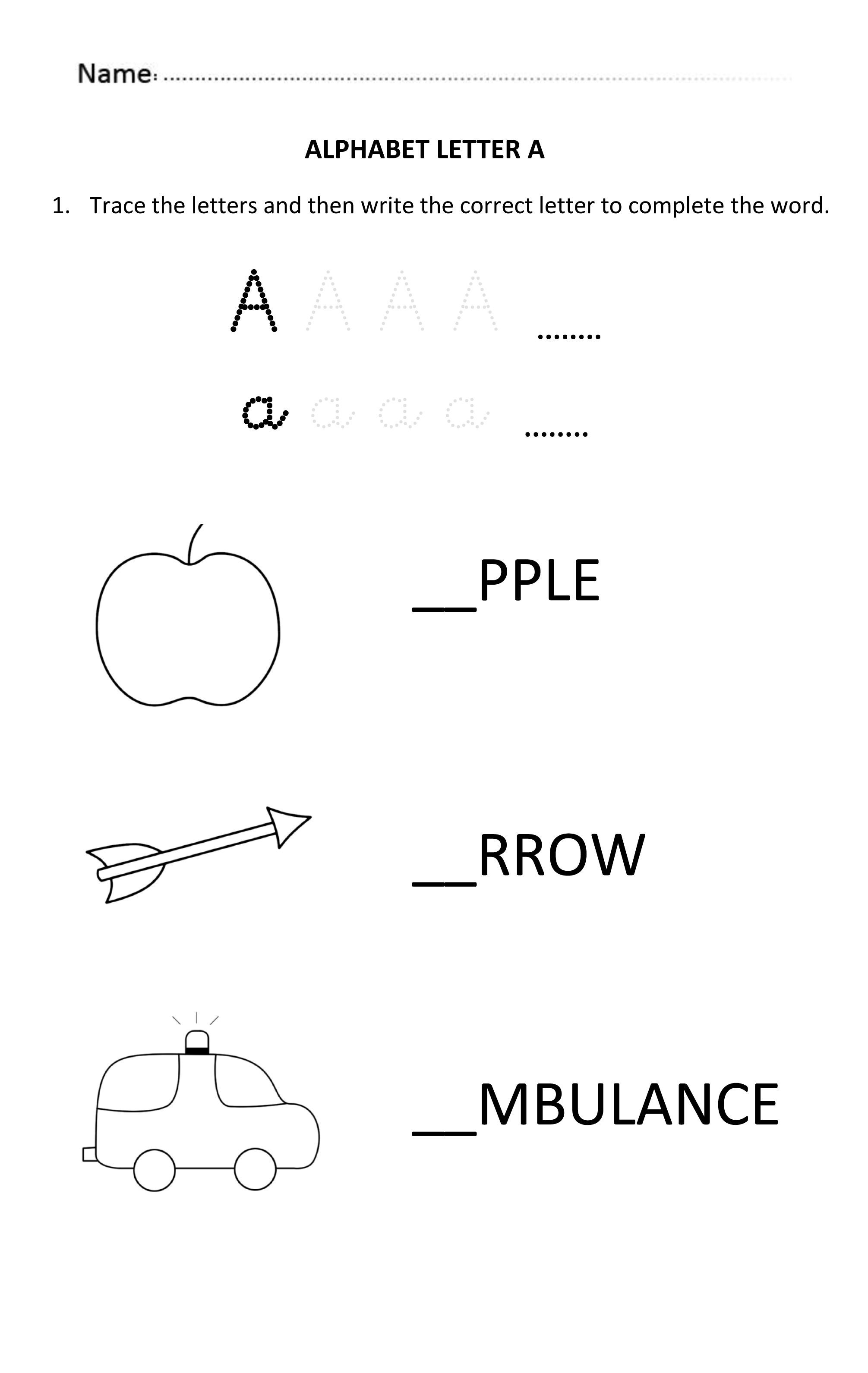 23++ 5 year old writing worksheets Top