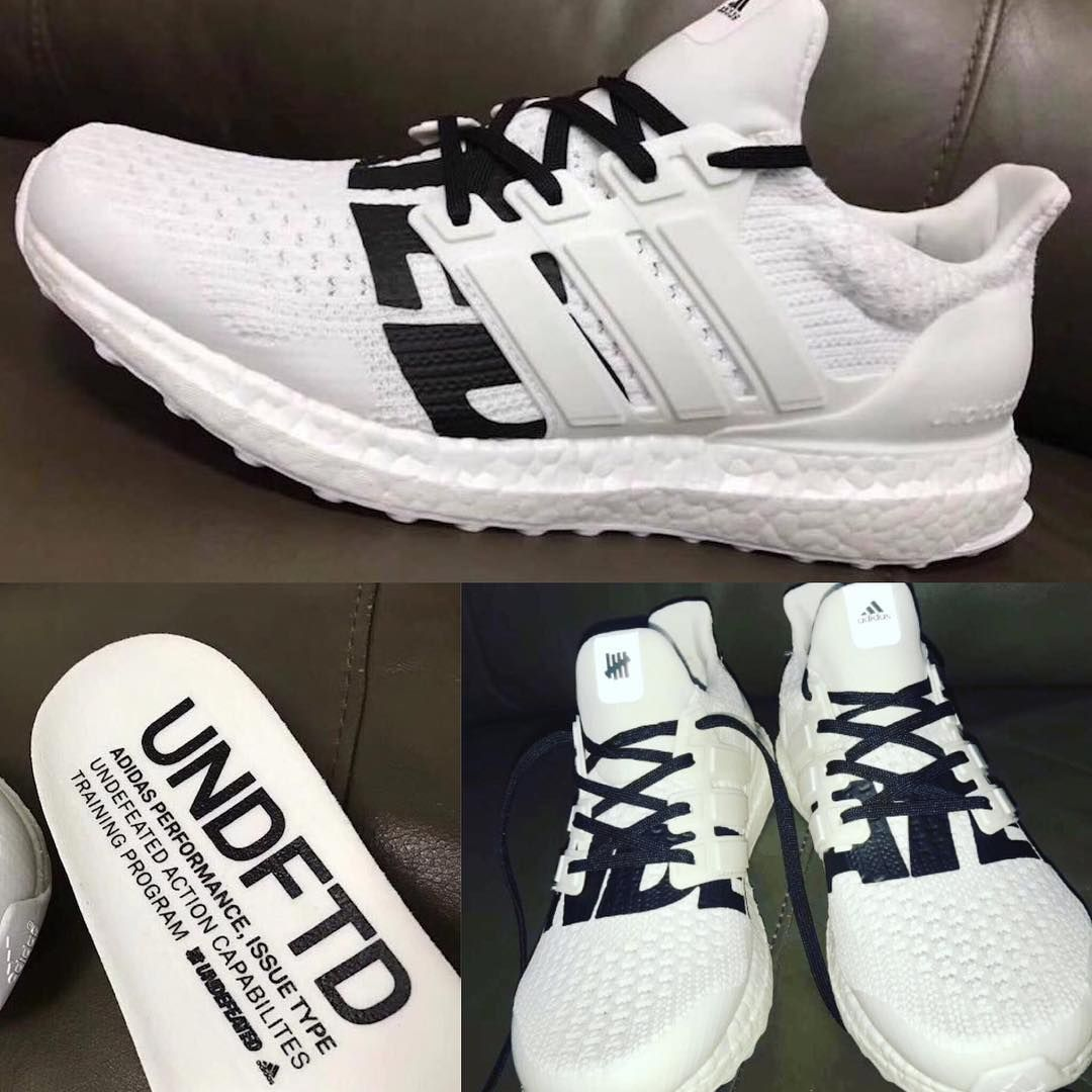 quality design 28967 4c69c A Closer Look at Both UNDEFEATED x adidas Ultra Boost Colorways ...
