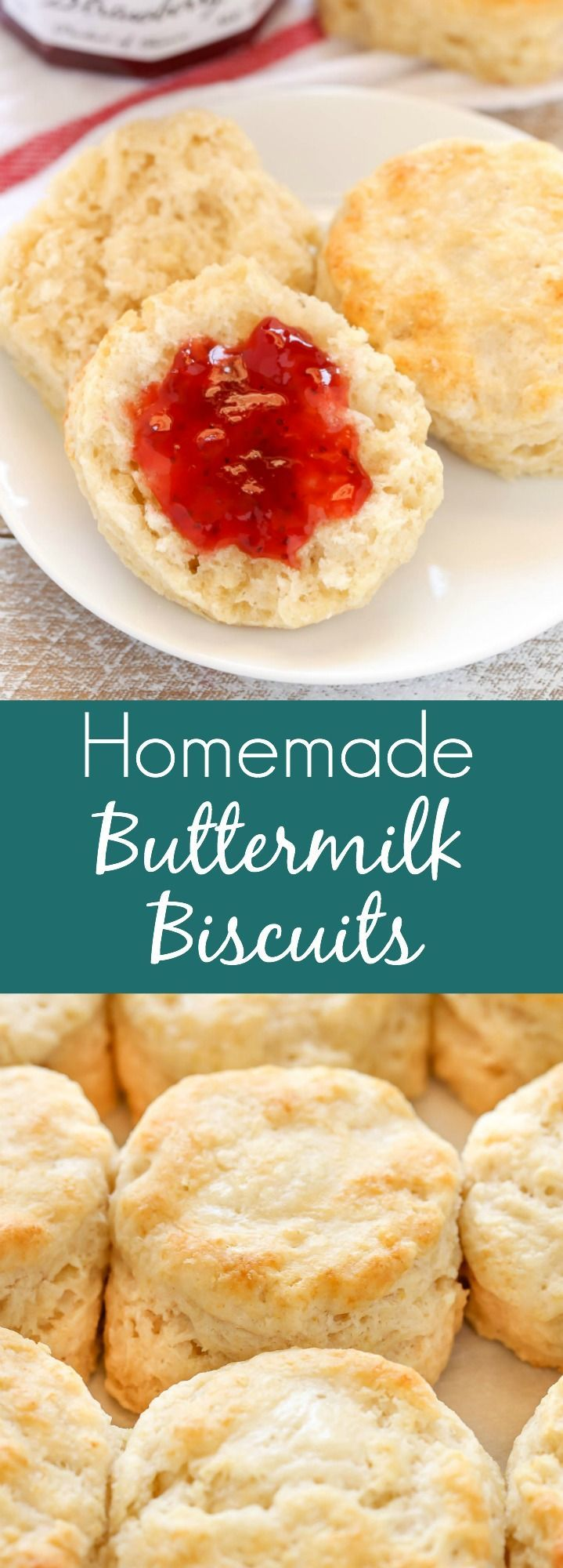 These Easy Buttermilk Biscuits Are Incredibly Soft Tall Flaky And Buttery Serve These With So Homemade Biscuits Biscuit Recipe Homemade Buttermilk Biscuits