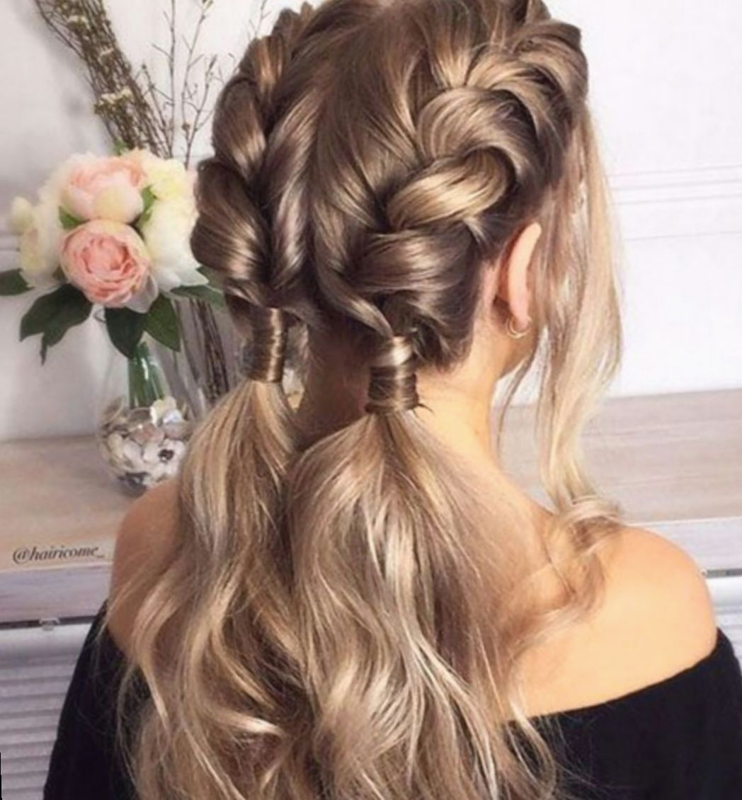 14 Hairstyles Prom Videos Pulled Back Cool Braid Hairstyles Braided Hairstyles Easy Braids For Long Hair